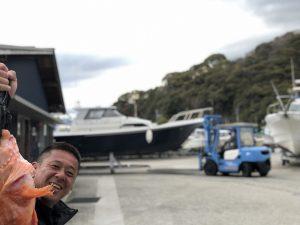 ご愛艇とツーショット♪